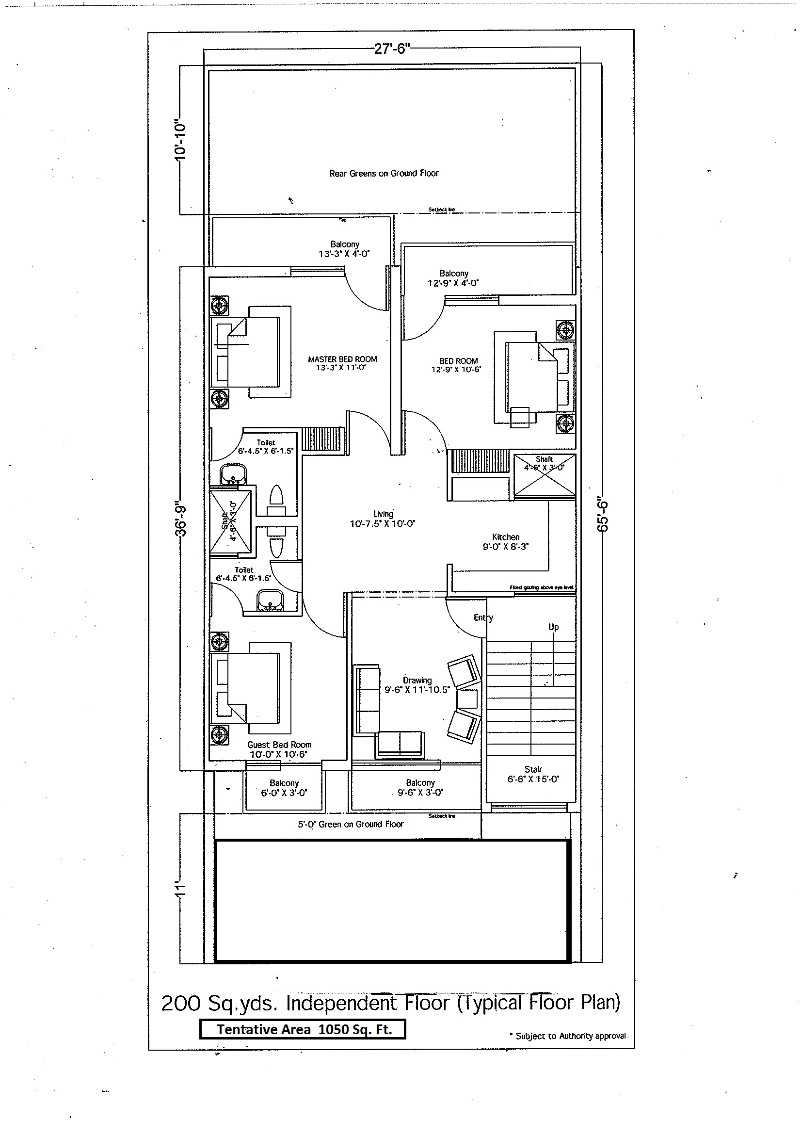 Floor Plan wave