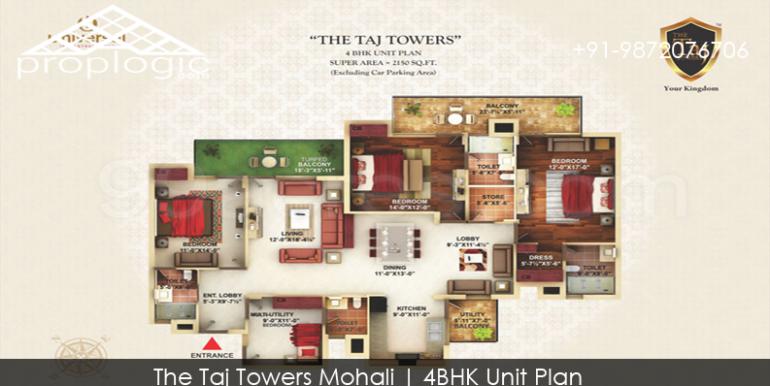 Floor-plan-the-taj-towers-mohali