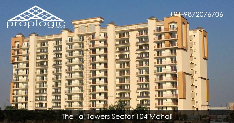 The Taj Towers 4 BHK Apartments Sector 104 SAS Nagar Mohali