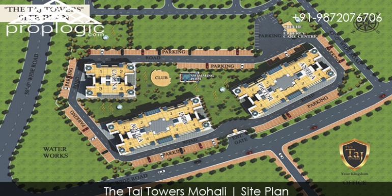 The Taj Towers Site Plan