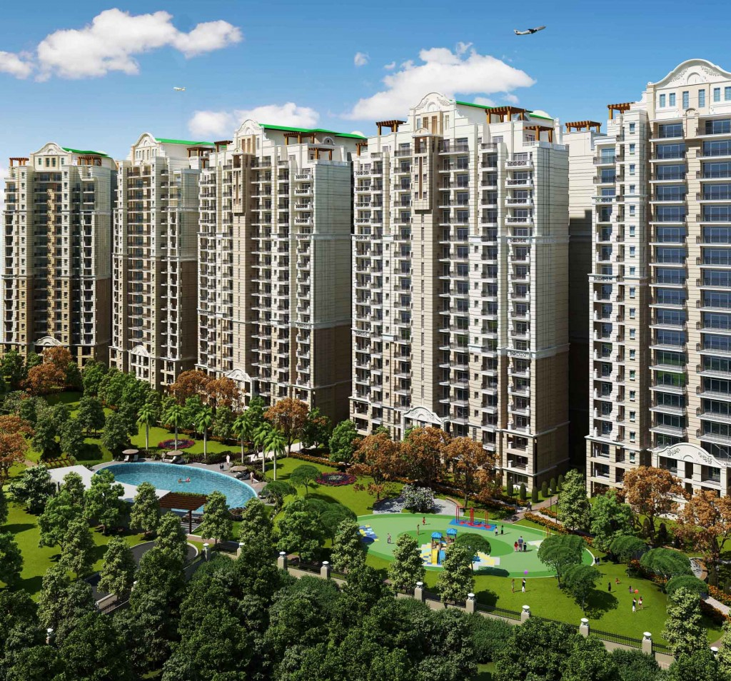 ATS Golf Meadows Lifestyle Appartments 4BHK + Svt, Derabassi