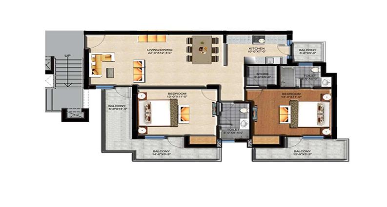 Sushma Green Vista Floor Plan