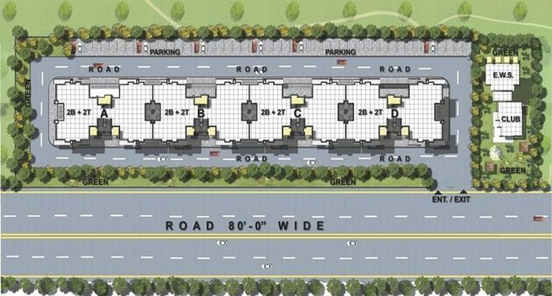 Sushma Green Vista layout