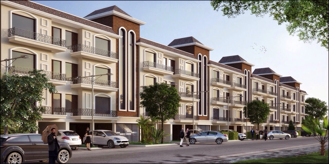 Omaxe Celestia Grand 3 BHK independent floors (SF), New Chandigarh, Mullanpur