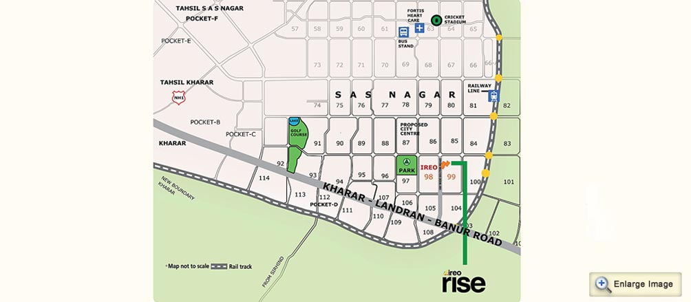 ireo-rise-location-map
