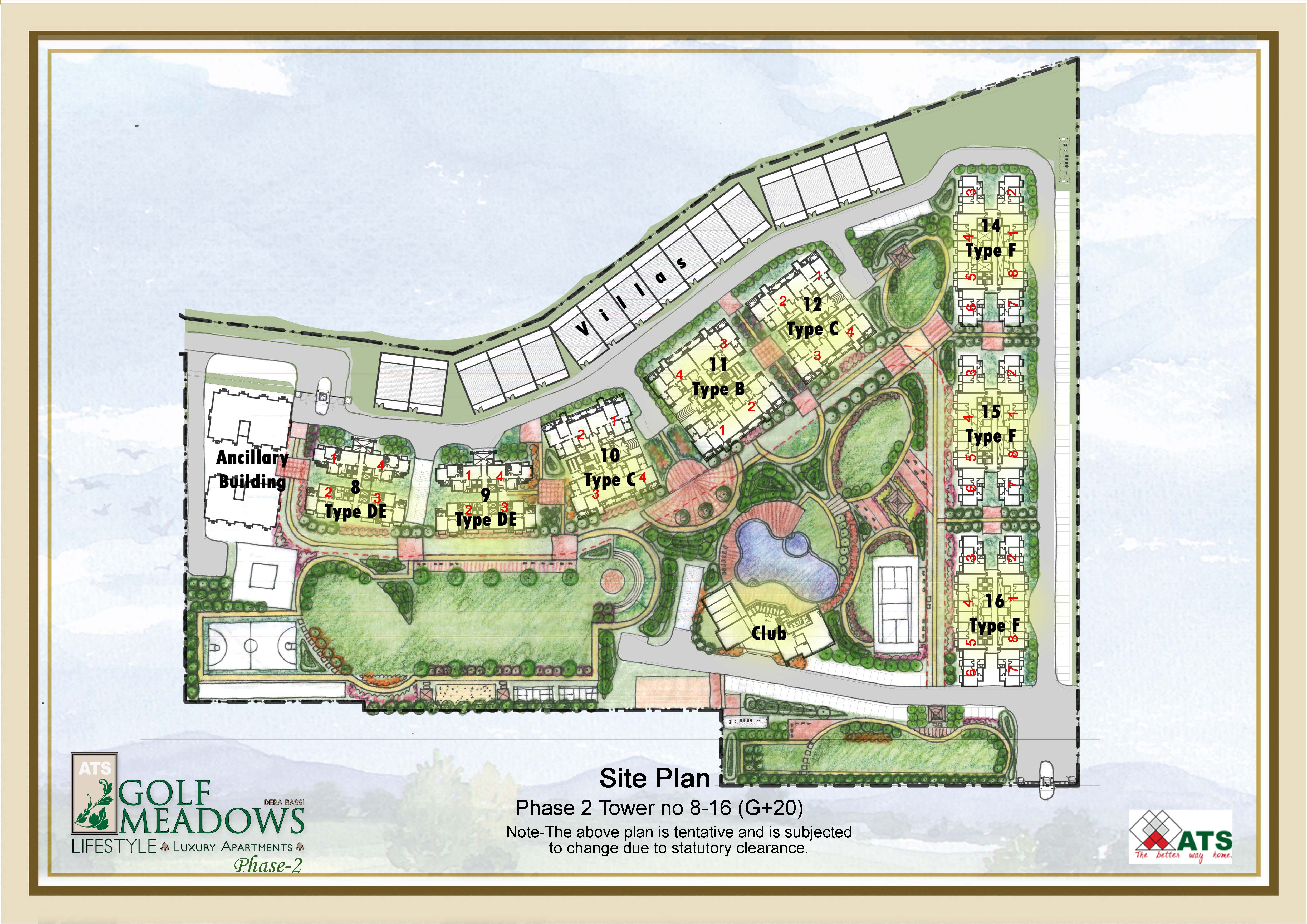 ATS Lifestyle_Site plan_Marketing_ phase 2