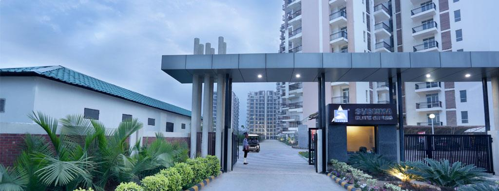 Sushma 3 BHK Elite Cross Apartments Zirakpur