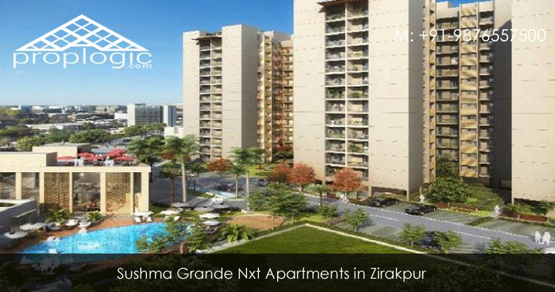 Sushma Grande Nxt 3BHK Apartments Zirakpur