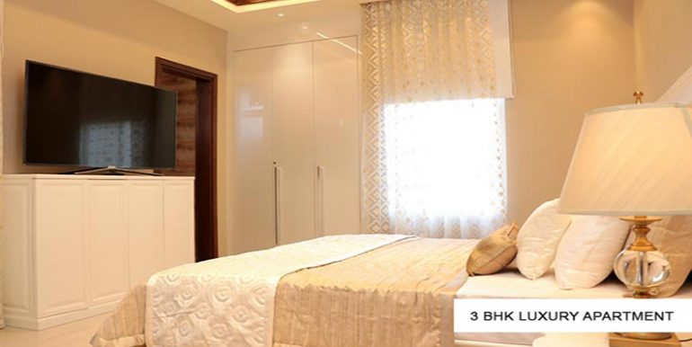 3 bhk bedroom GBP Athens Sample Flat