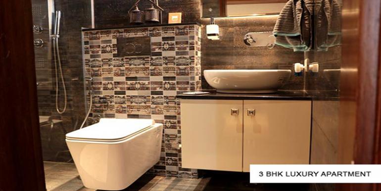 3bhk luxury sample flat GBP athens Zirakpur