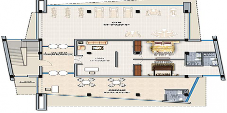 GBP crest 2nd Floor Plan