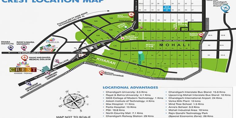 GBP crest Location map