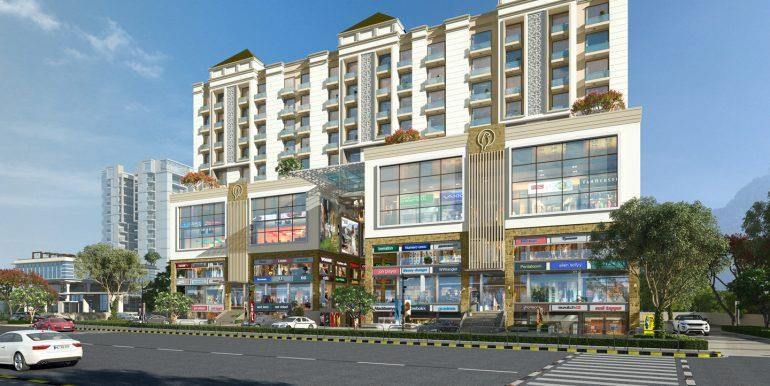 Hermitage Plaza – Lower Ground Floor 335 Sq. Ft. SCOs/Shops – Zirakpur
