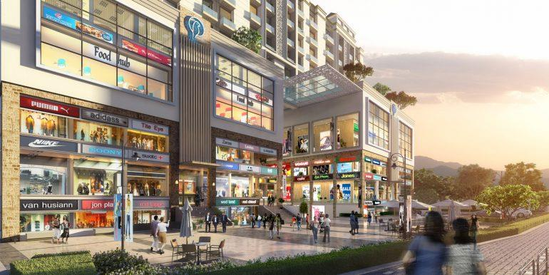 Hermitage Plaza – Second Floor 575 Sq. Ft. Shops – Zirakpur
