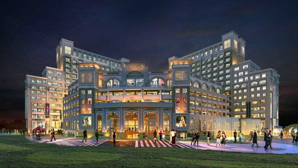 Fine Dining – Highway Facing 2445 Sq. Ft. – Maya Garden Magnesia – Zirakpur