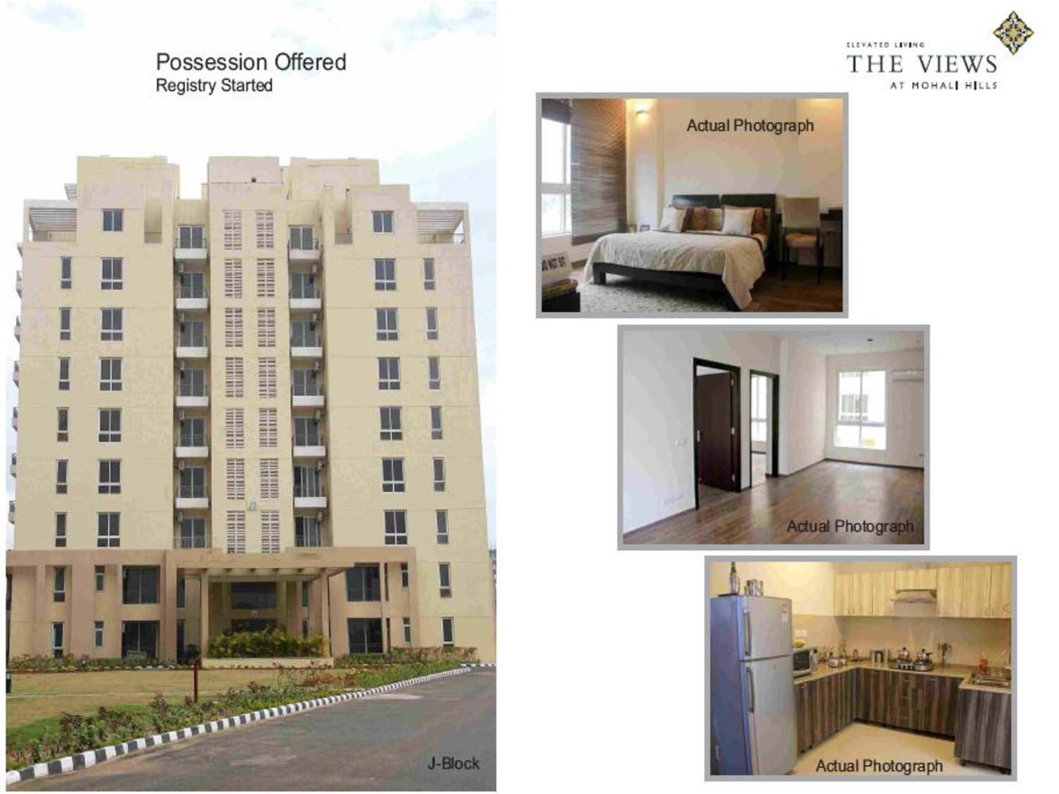 Emaar MGF The Views Luxury Apartments 2BHK- Mohali