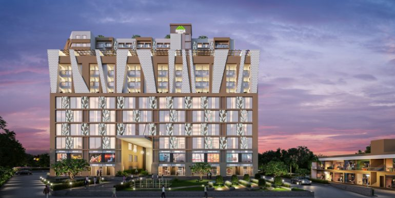 Motiaz Workscape – Fifth Floor Office Spaces 680 Sq. Ft. – Zirakpur