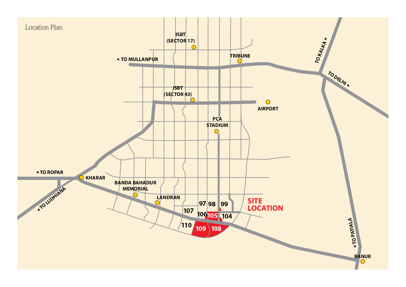 emaar location-map