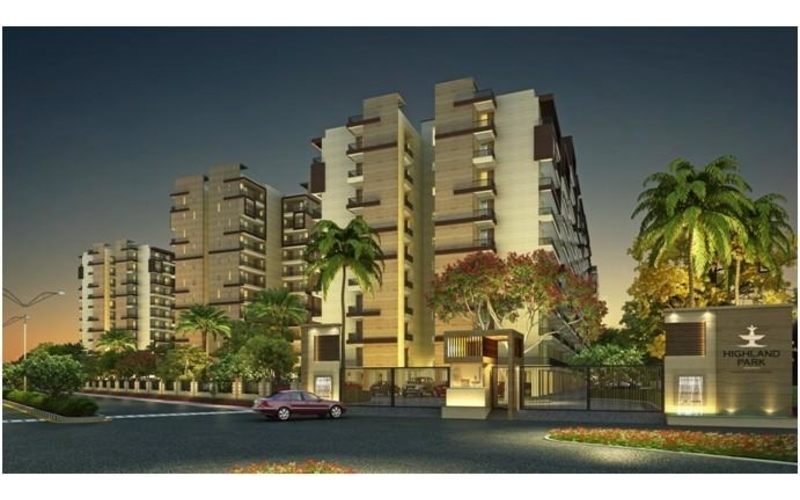 Highland Park-  3rd Floor 4 BHK 2190 Sq. Ft. Residential Apartment – Zirakpur