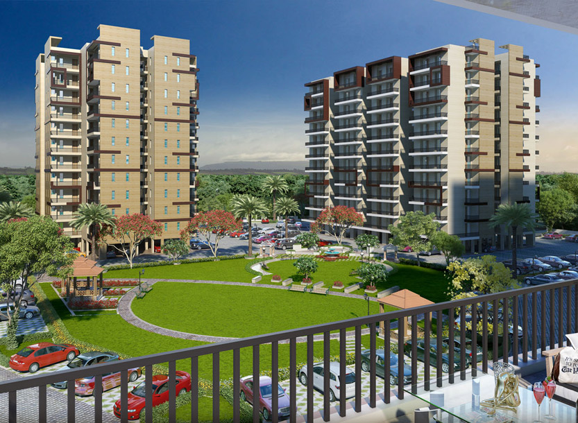 Highland Park- 3rd Floor 2 BHK 1060 Sq. Ft. – Zirakpur