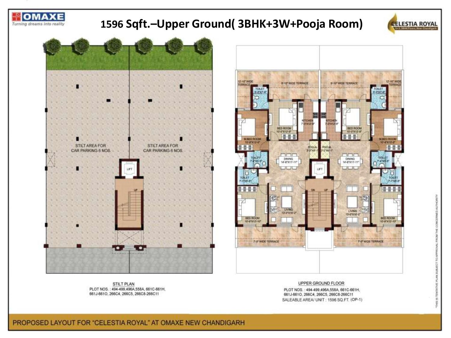 Floor Plans Celestia Royal