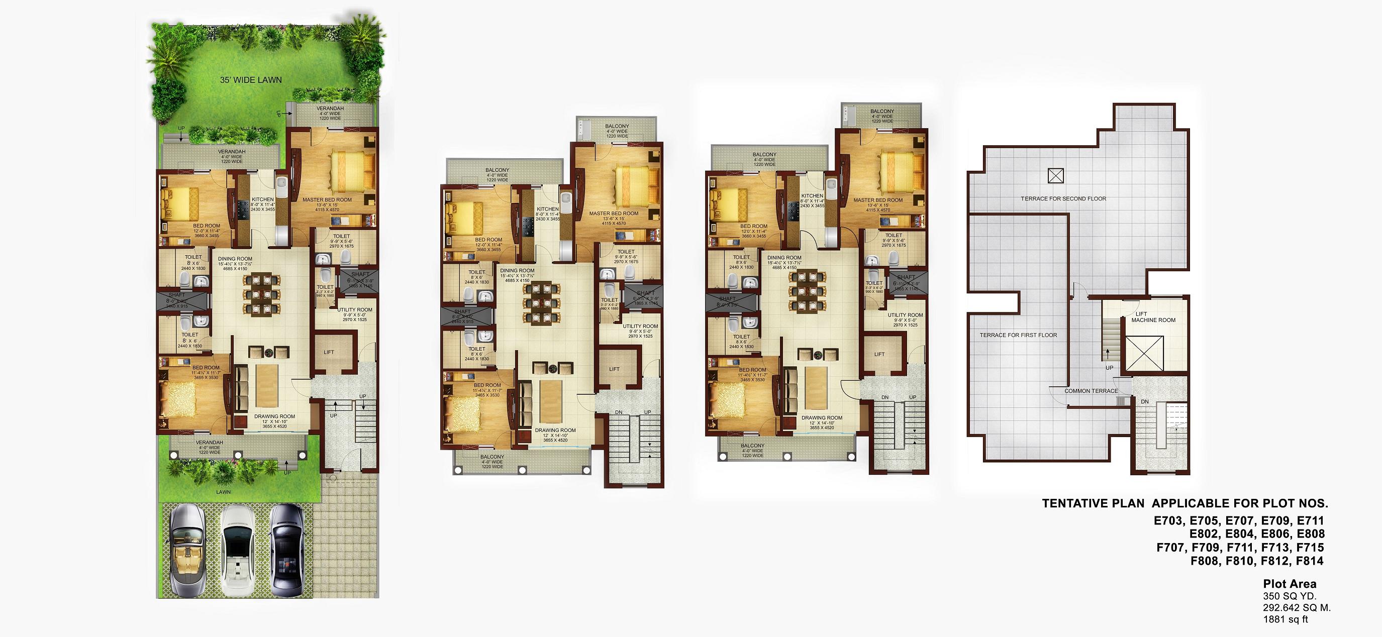 DLF Floor Plans