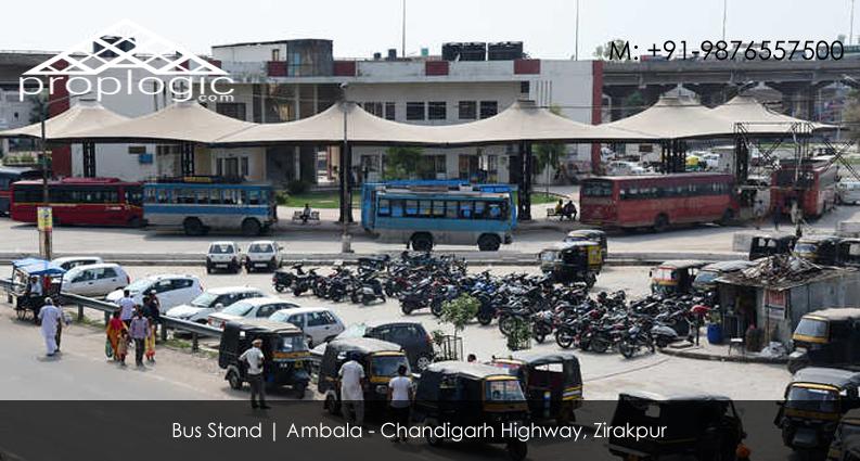 Zirakpur Bus Stand
