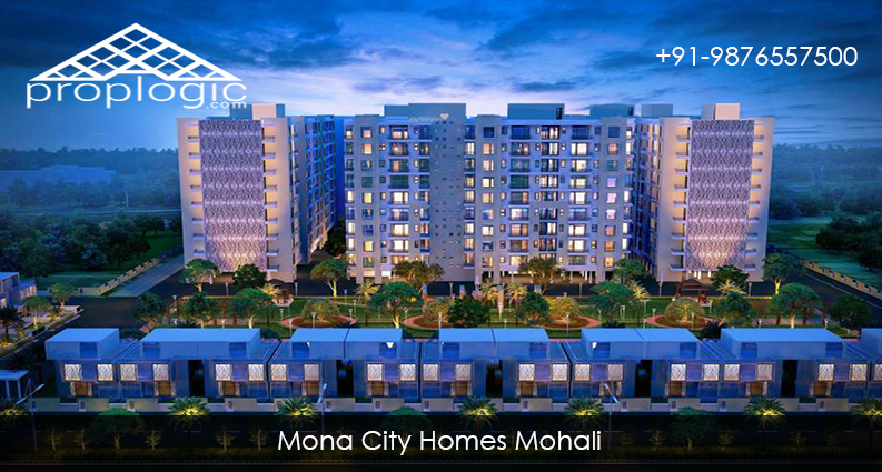 Mona City Homes 3 BHK Residential Apartments Sector 115 Mohali