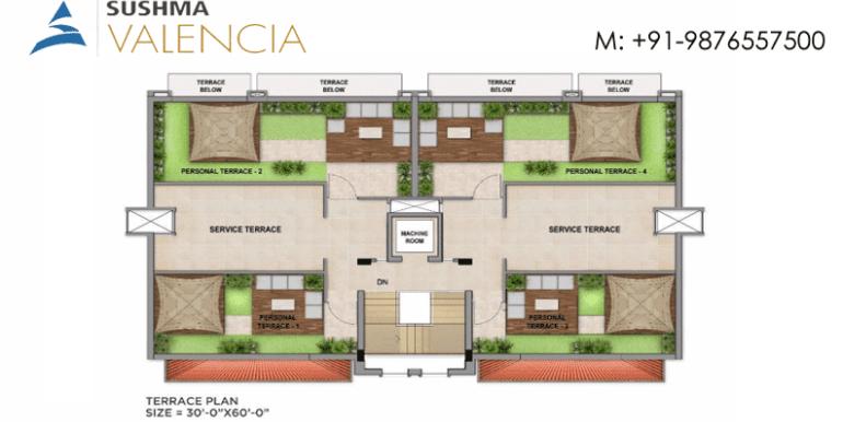 Terrace-plan