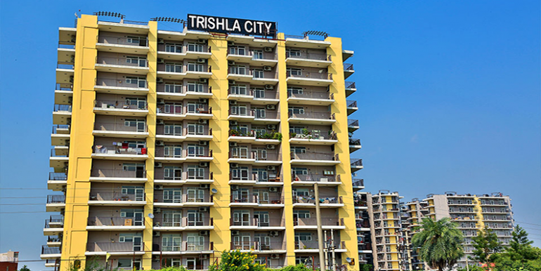 Trishla City Front View