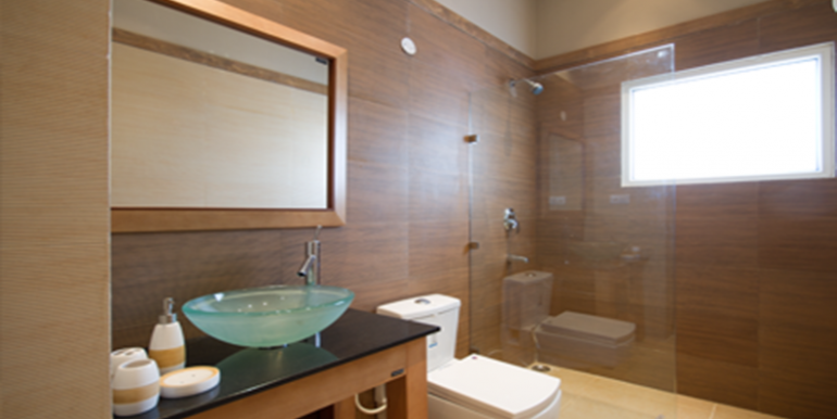 Trishla City Washroom Sample Apartment