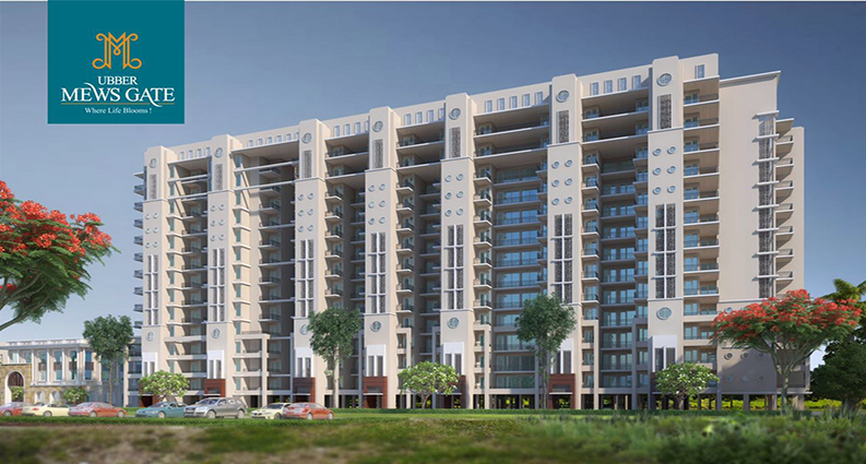 Ubber Mews Gate 2/3 BHK Residential Apartment in Kharar Mohali
