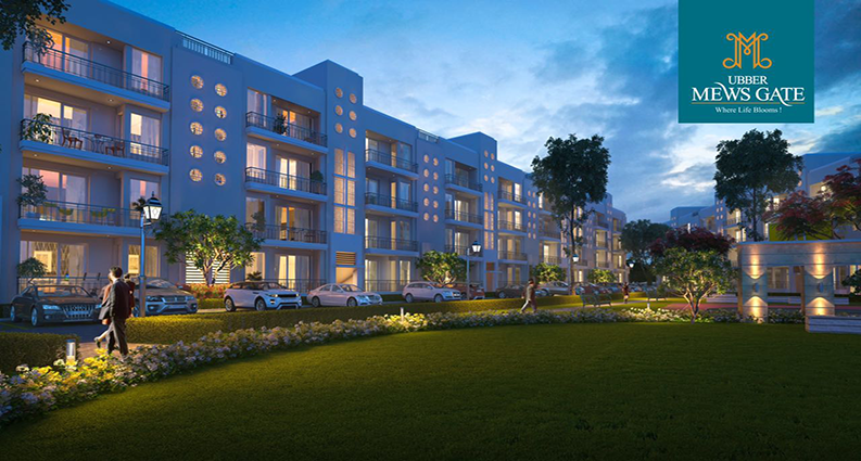 Ubber Mews Gate 3/4 BHK Independent Floors|Duplex Pent House in Kharar Mohali
