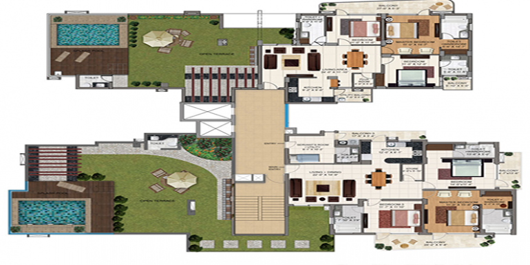 3bhk-penthouse-sitemap