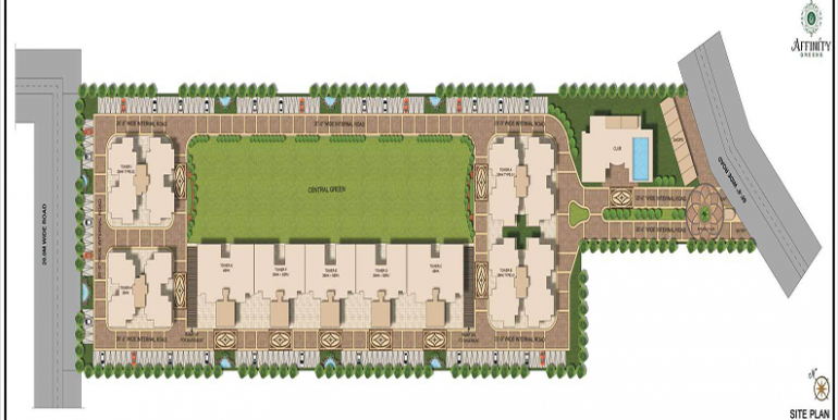 Affinity Greens Site Plan