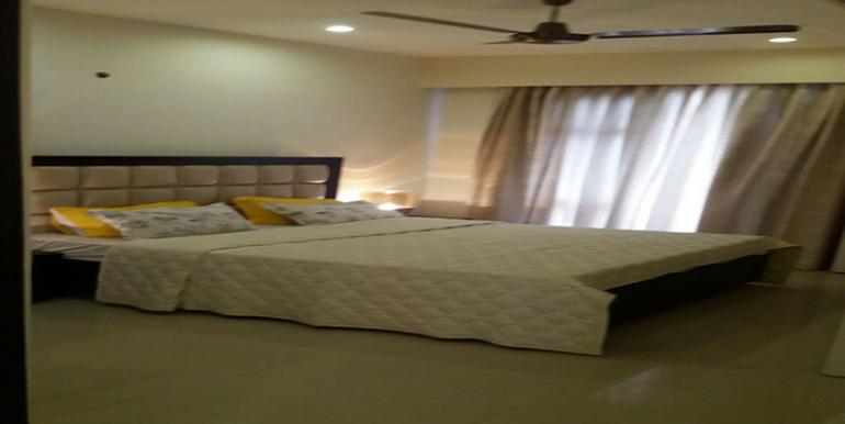 bedroom sample flat palm residency