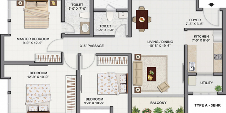tata-amantra-3bhk-2t-1-332-sq-ft-apartment-1332-sq-ft-1379009