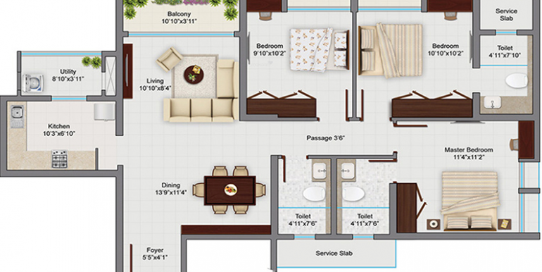 tata-amantra-3bhk-3t-1-491-sq-ft-apartment-1491-sq-ft-1379007
