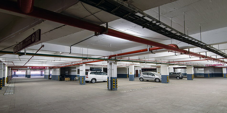 tata housing amantra parking