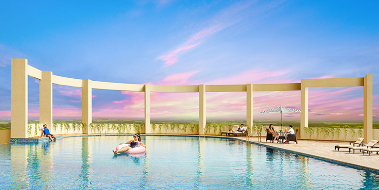 tata housing amantra swimming pool