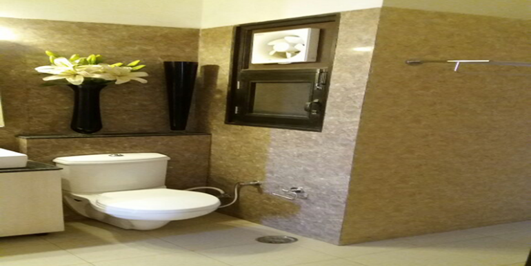 washroom sample flat palm residency