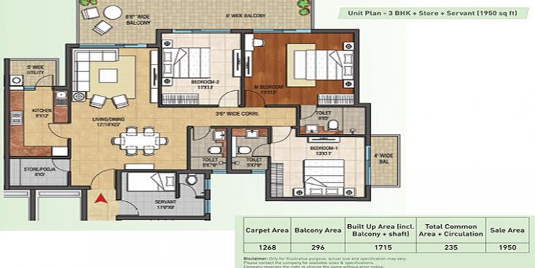 3bhk-store-servernt-1950-floor-plan